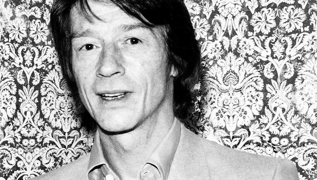 Actor John Hurt, Golden Globe winner