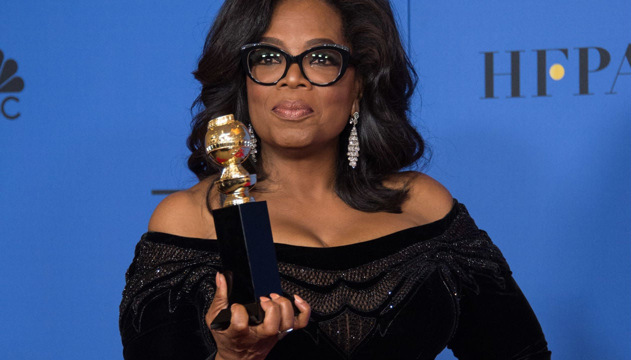 Oprah Winfrey, recipient of the Cecil B. deMille Award