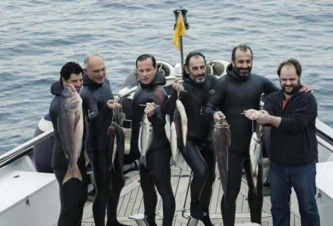 """A scene from """"Chevalier"""", Greece"""