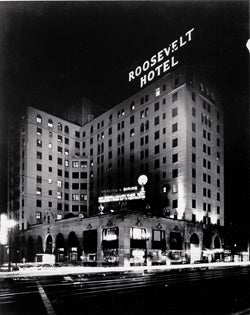 Roosevelt Hotel, home of the first Golden Globes